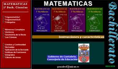 Libro de matemáticas de 1º de Bachillerato con ejemplos y ejercicios resueltos.